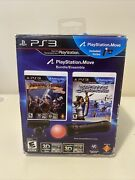 Playstation Move Bundle Ps3,2011 With Brand New Game. Tested And Works