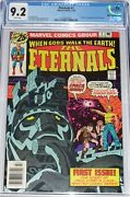 Eternals 1 Cgc 9.2 From July 1976 Origin And 1st Appearance Of The Eternals