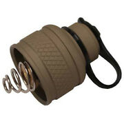 Surefire Flashlight Replacement Rear Cap Assembly For M6xx Tan Md Ue-tn