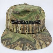 Vintage Spell Out Camo Snapback Hat Cap Made In Usa Sunglasses Real Tree