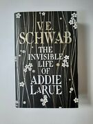 The Invisible Life Of Addie Larue Illumicrate Exclusive Signed And Sprayed Edition