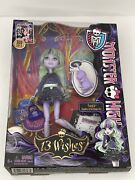 New 2012 Monster High Doll 13 Wishes Twyla + Dustin Loose Items
