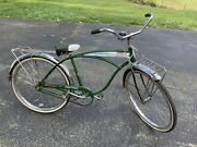 Vintage Green 1967 Schwinn Panther- Local Pickup Only Tennessee- Cruiser