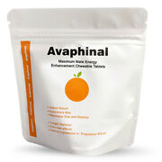 Avaphinal Orange Flavor Chewable Candy Male Enhancement Formula Empowers Menand039
