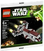 Lego Star Wars Republic Frigate 30242 With Instructions And Additional Partialship