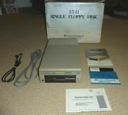 Commodore 1541 5.25 Floppy Disk Drive With Bo C64 C128, Tested Works Great