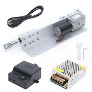 Diy Dc 24v Automatic Reciprocating Linear Actuator Motor+power Supply+controller