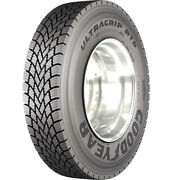 4 New Goodyear Ultra Grip Rtd 11r22.5 Load H 16 Ply Drive Commercial Tires