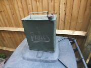 Pratts Petrol Can - With Correct Brass Lid - Dated 1927