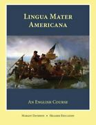 Lingua Mater Americana Like New Used Free Shipping In The Us