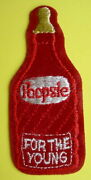 Vtg Topps Original 1973-1974 Wacky Packages Sew-on Cloth Patch Poopsie For Young