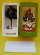 2002 Retired Department Dept 56 Pine Isles Wally The Wood Cutter Firewood New