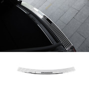 Chrome Steel Outer Rear Bumper Protector Guard For Lincoln Navigator 2018-2021