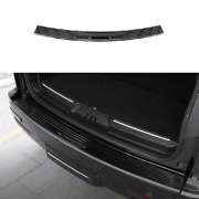 Black Steel Outer Rear Bumper Protector Guard 1pcs For Lincoln Navigator 2018-21