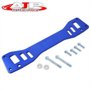 Blue Jdm Chassis Subframe Tie Brace Bar For 2002-2005 Civic Si Ep3 / -06 Rsx Dc5