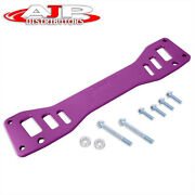 Purple Jdm Chassis Subframe Brace Bar For 2002-2005 Civic Si Ep3 / -06 Rsx Dc5