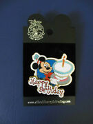 Disney Trading Pin Happy Birthday Cake Candle Mickey Mouse Gift Present, 2005