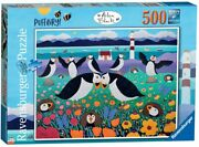 Jigsaw Puzzle - Puffinry Aisla Black Birds/nature/wildlife - 500 Pieces