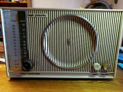 Vintage-zenith Am-fm Tabletop Tube Radio S-46351- Working Condition