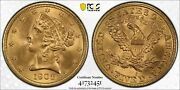1908 Pcgs And Cac Ms65 5 Gold Liberty Half Eagle