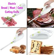 Electric Knife Bread Pastry Freeze Meat Cutter Kitchen Outdoor Bbq Cutting Tool