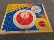 Vintage Denys Fisher Spirograph Toy In Good Condition -1970`s Complete Exc. Pens