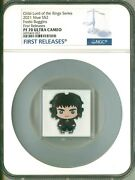 2021 Niue S2 Chibi Lord Of The Rings Series Frodo Baggins Fr Ngc Pf70 Uc Ogp