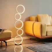 Modern Ring Touch Switch Led Floor Lights
