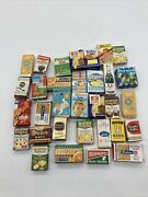 Vintage Antique German Doll House Food Boxes Lot Of 32