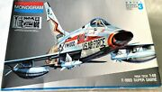 Monogram F-100 Super Sabre Model Kits 1/48 Pre-owned In Good Contidion