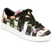 Rampage Holly Womenand039s Printed Low Top Lace-up Fashion Sneakers