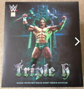 Mcfarlane Toys Wwe Wrestling Triple H Resin Statue Collectors Edition Brand New