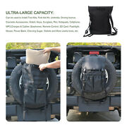 Spare Tire Storage Trash Bag Off Road Recovery Camping Gear For Jeep Wrangler Tj