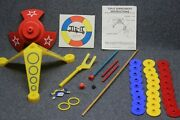 Vintage 1965 Ideal Tip-it Game Replacement Pieces - Parts Only - Near Complete