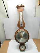 """21"""" Airguide Banjo Style Weather Station Barometer Hygrometer Thermometer"""