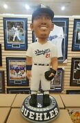 Walker Buehler Dodgers Signed 3 Ft Bobblehead Inscr 2020 Ws Champs Foco Bas