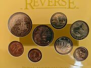 1988 Australia Uncirculated Coin Set. 8-coins In Royal Australian Mint Packaging