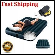 Double Inflatable Air Mattress Outdoor Camping Couple Bed With Pump