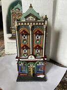 Dept 56 Seasons Department Store 56.59201 Christmas In The City 2002 Porcelain