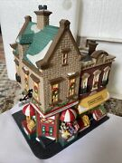 Dept 56 Johnsons Grocery And Deli Christmas In The City 1997 Porcelain New