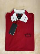 Hugo Boss Ag Slim Fit Navy Black Red Olive Green Color Polo Shirt Size S-xxl