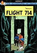 Flight 714 To Sydney Adventures Of Tintin Original Classic By Herge Book The