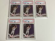 2017 Topps Chrome - Aaron Judge - Rookie Rc - 169 - Psa 9 Mint One Card