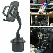 Universal Adjustable Car Cup Mount Holder Cradle For Cell Phone Gps Accessories