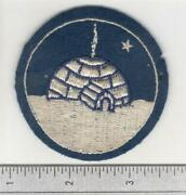 Htf Rare Ww 2 Us Army Air Force And Canadian Army Exercise Eskimo Patch Inv B502