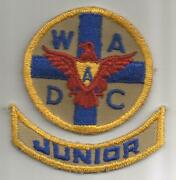 Ww 2 Womenand039s Ambulance And Defense Corps Of America Patch And Tab Inv G536