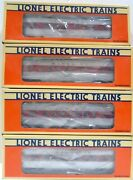O Gauge 3 Rail Lionel Santa Fe Set Of 4 And039s 6-16055 56 57 60 Lc30