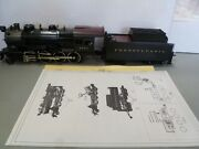 O Scale-weaver-prr H-10 Consolidation Steam Loco And Tender- In Box- C3