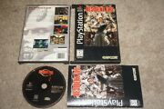 Resident Evil Sony Playstation 1 Ps1 Complete Long Box Great Shape