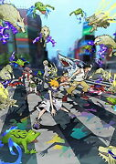 World Ends With You-the Animation Part 1 Of 2-japan Blu-ray+book Az50 Sd